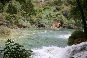 Nationalpark Krka in Dalmatien
